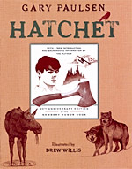 the story of brian robeson in gary paulsens hatchet Gary paulsen's hatchet is the classic survival story of our time hatchet is one of three paulsen titles named as [.