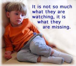 Read aloud handbook chpt 8 pg 1 child watching tv fandeluxe Images